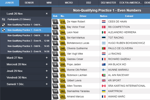 Infos, horaires, Live... suivez le Team France