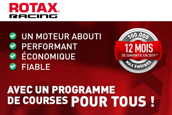 ROTAX : un programme de courses pour TOUS