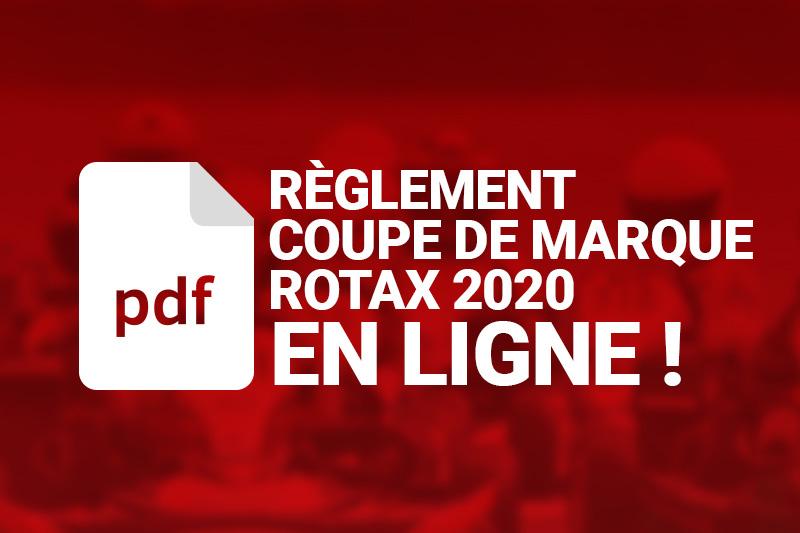 Règlement Coupe de Marque Rotax France
