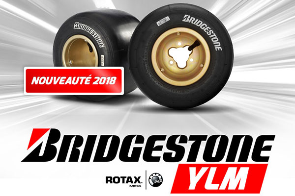Rotax Max et DD2 chaussés en Bridgestone YLM